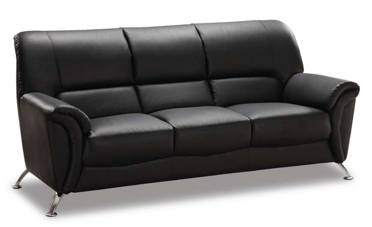 9103 Sofa - Black - Global Furniture