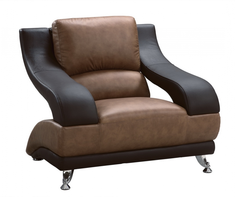 982 Chair - Tan/Brown - Global Furniture