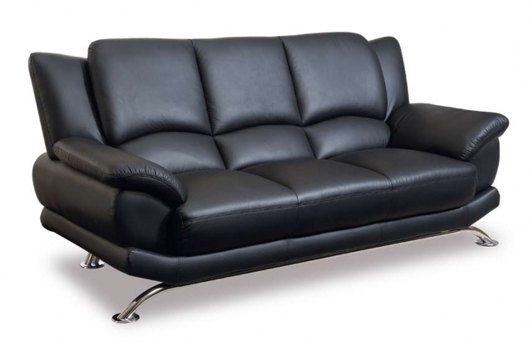 9908 Sofa - Black - Global Furniture