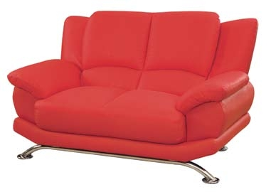 9908 Love Seat - Red
