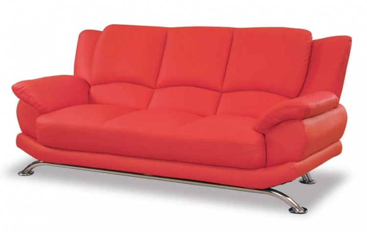 9908 Sofa - Red - Global Furniture
