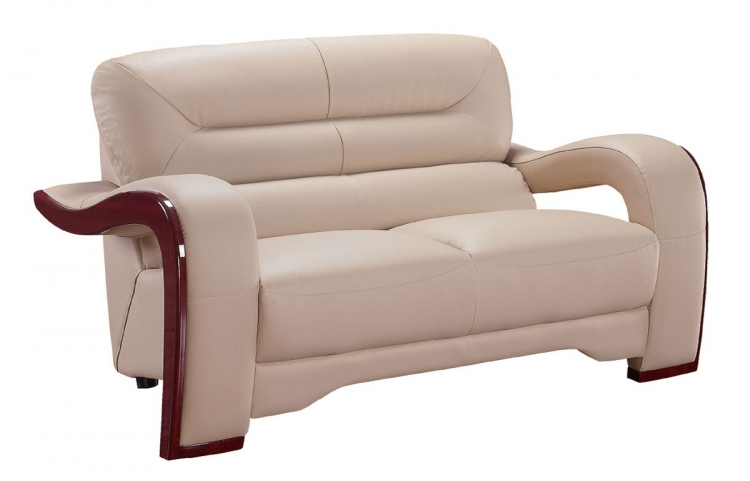 992 Love Seat - Cappuccino - Global Furniture