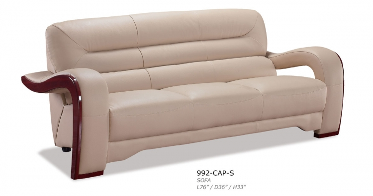 992 Sofa - Cappuccino - Global Furniture