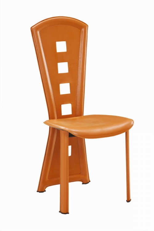 GF-1501 Dining Chair - Cherry PVC