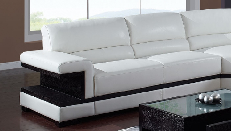 A203 Sectional Left - White