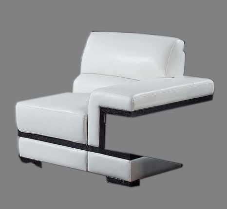 A203 Sectional Right - White