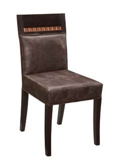 Amanda Dining Chair - Dark Brown