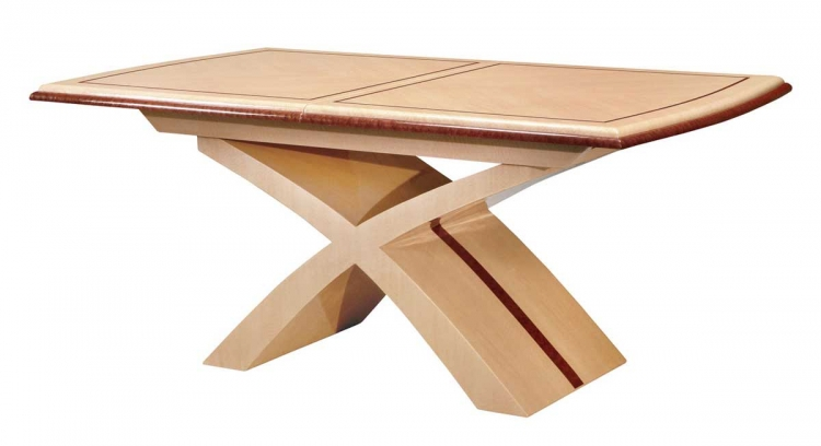 Ashley Dining Table - Light Oak with Cherry