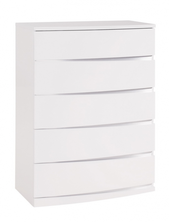 Aurora Chest - White - Global Furniture