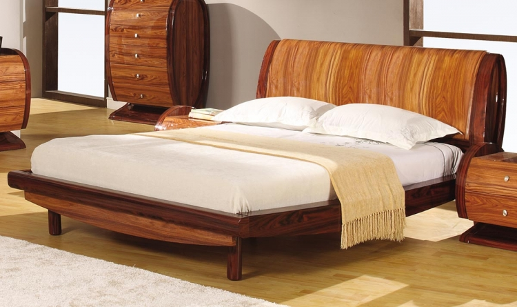 Autumn Platform Bed - Kokuten