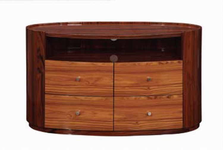 B92 Entertainment Unit - Two Tone Brown