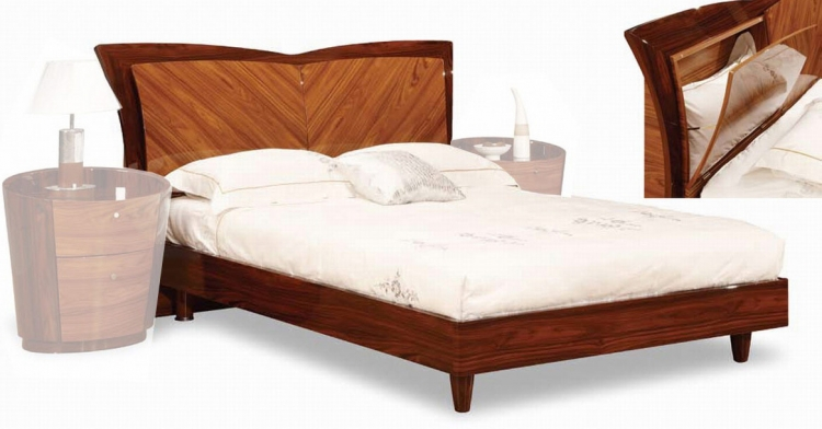 B92 Bed - Two Tone Brown