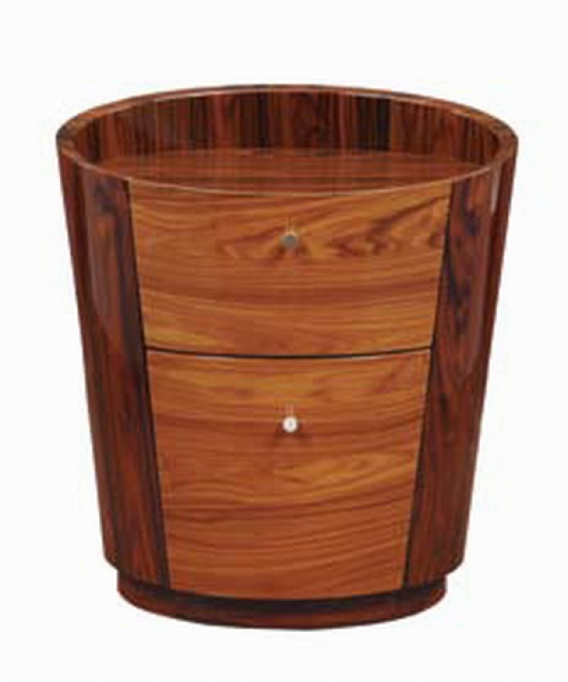B92 Night Stand - Two Tone Brown