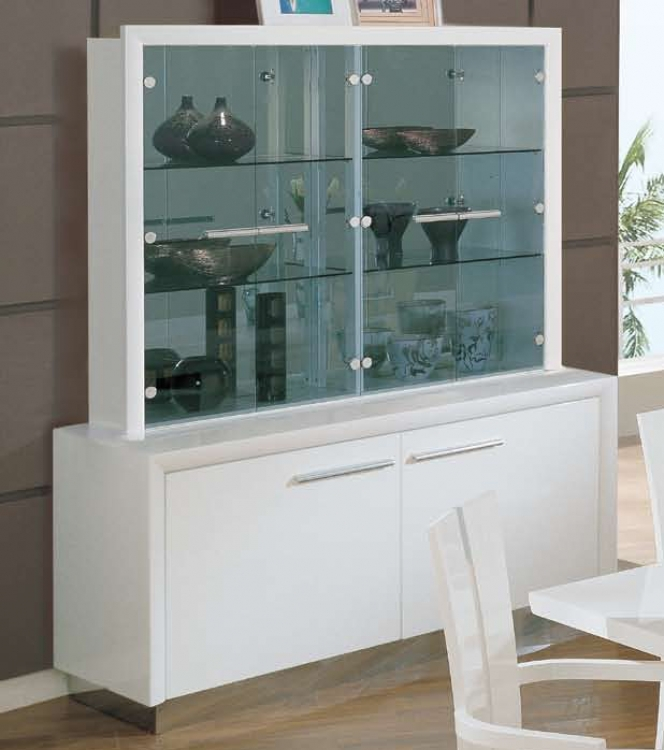 D99-Wh China Cabinet - White