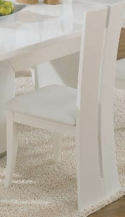 D99-Wh Dining Chair - White