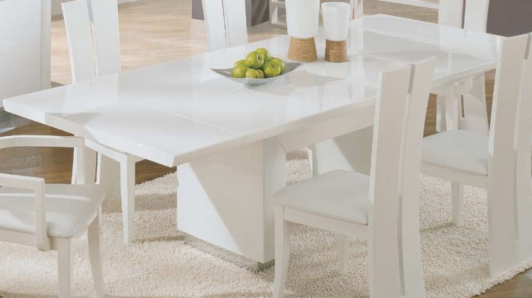 D99-Wh Dining Table - White