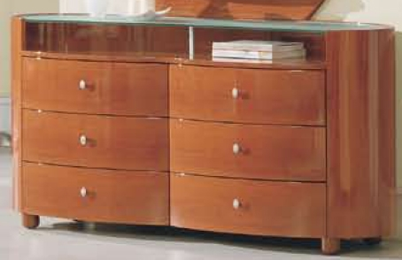 Emily Dresser - Cherry - Global Furniture