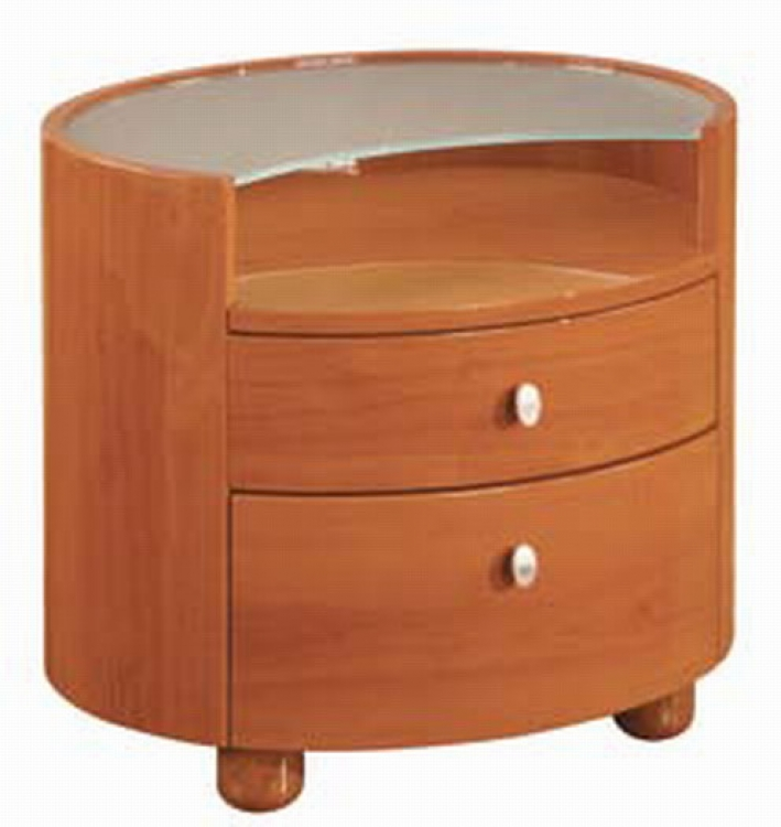 Emily Night Stand - Cherry - Global Furniture