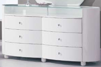 Emily Dresser - White - Global Furniture