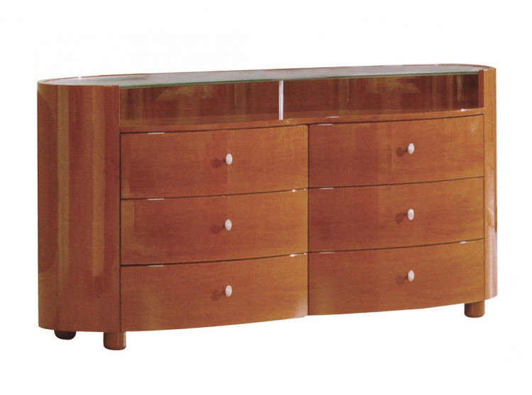 Evelyn Dresser - Cherry - Global Furniture