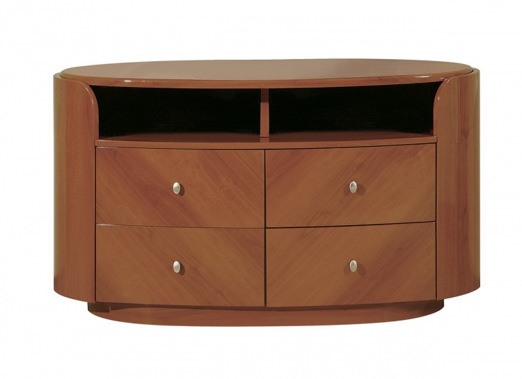Evelyn Entertainment Unit - Cherry - Global Furniture