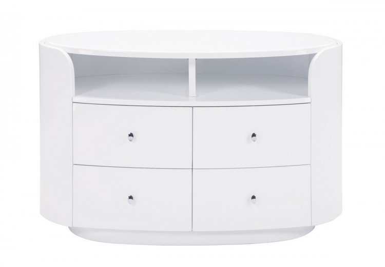 Evelyn Entertainment Unit - White