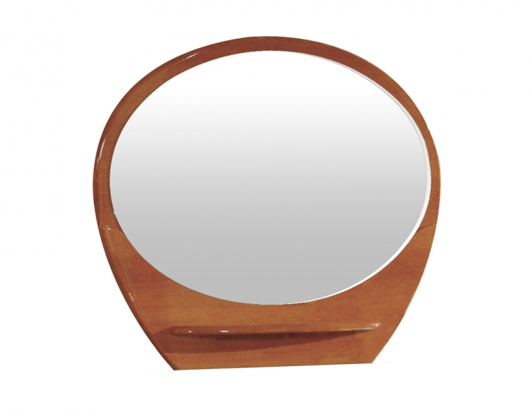 Evelyn Mirror - Cherry - Global Furniture