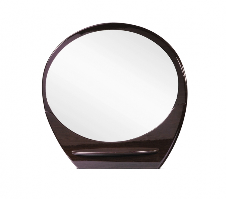 Evelyn Mirror - Wenge - Global Furniture