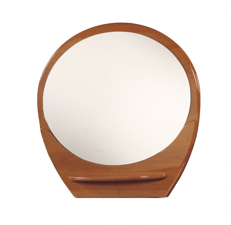 Evelyn Kids Mirror - Cherry - Global Furniture