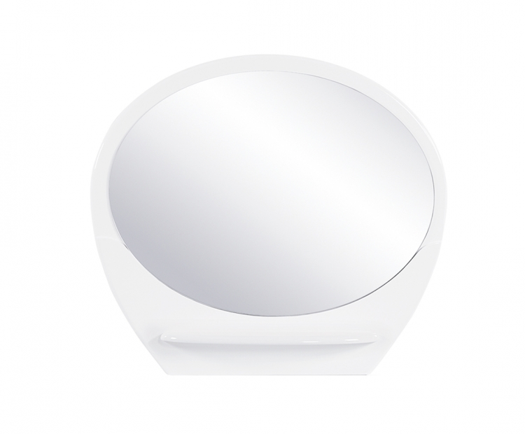 Evelyn Kids Mirror - White - Global Furniture