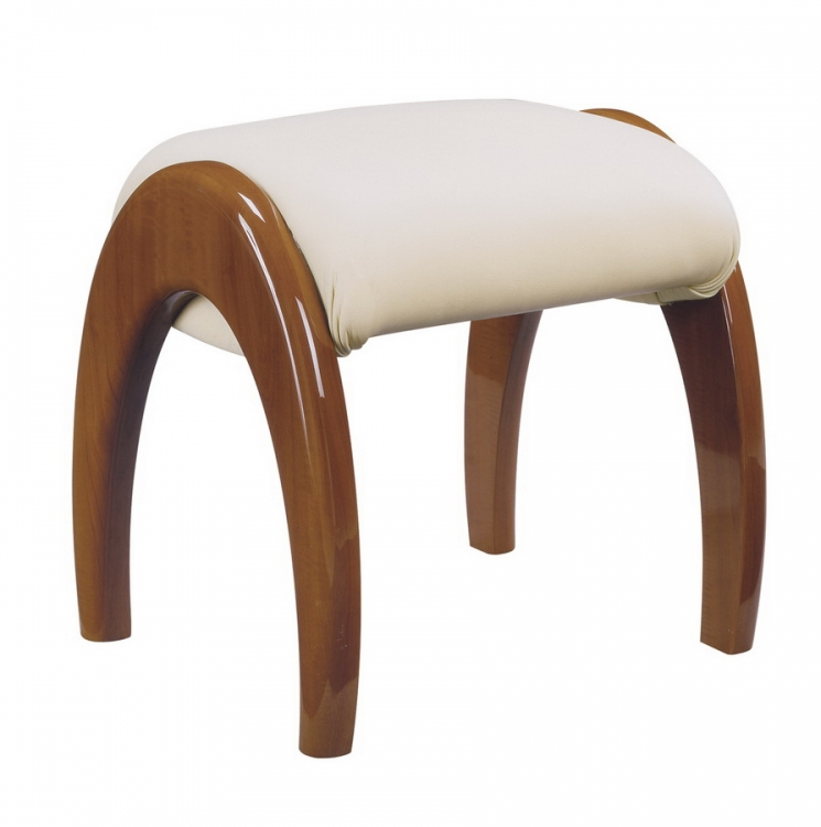 Evelyn Kids Stool - Cherry - Global Furniture