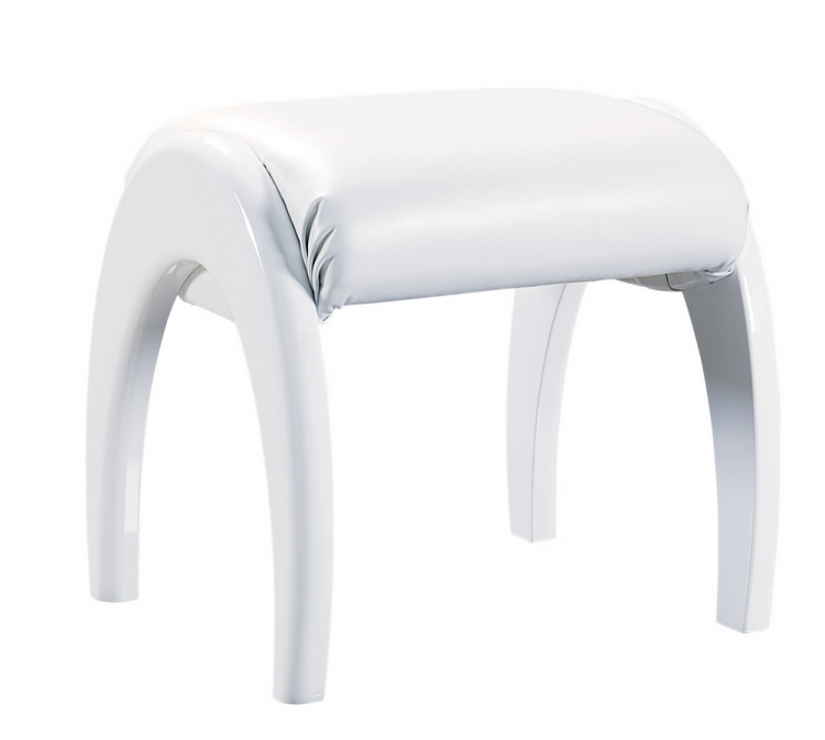 Evelyn Kids Stool - White - Global Furniture