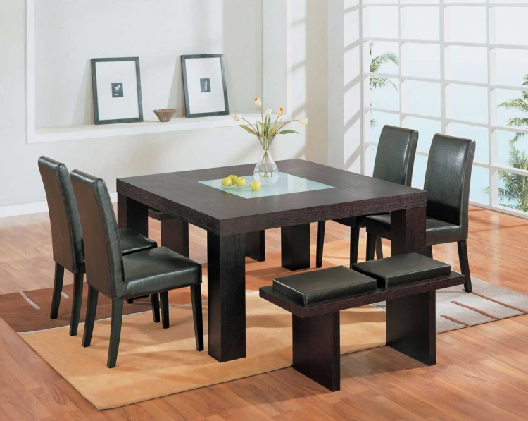 G020 Wenge Dining Set - Global Furniture