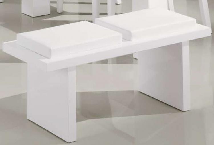 G020 Bench - White