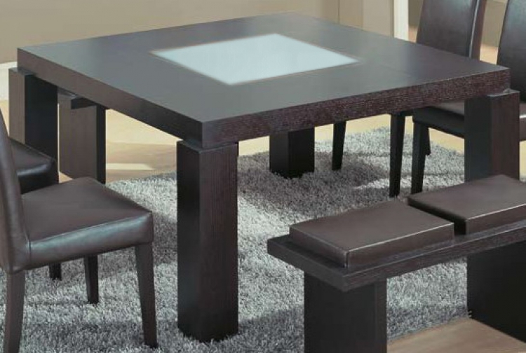 G020 Dining Table - Wenge - Global Furniture