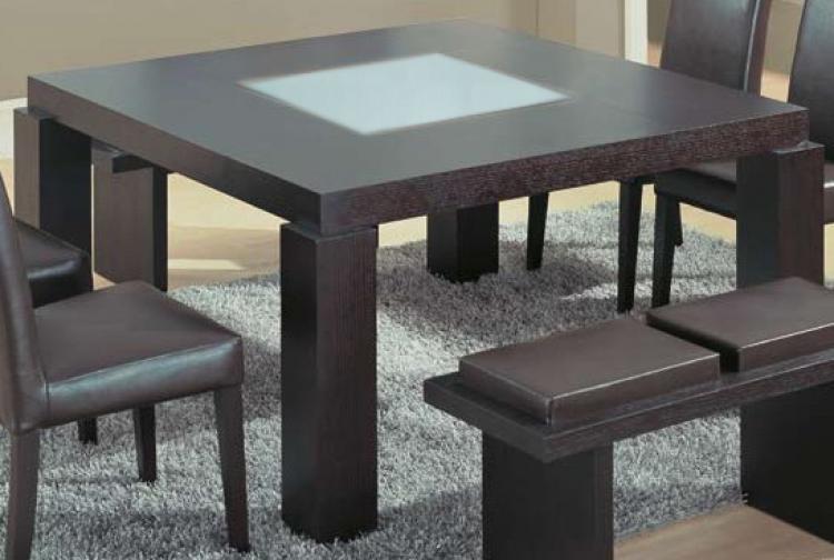 Global Furniture Usa G020 Wenge Dining Set Gf G020dt Set