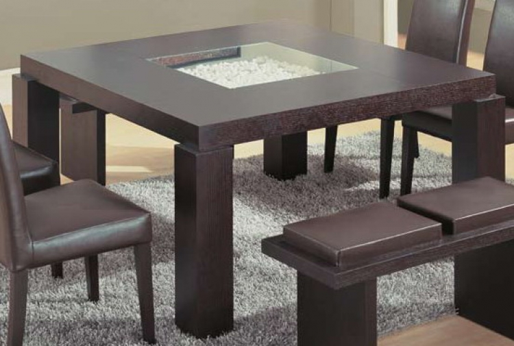 GF-G021 Dining Table - Wenge