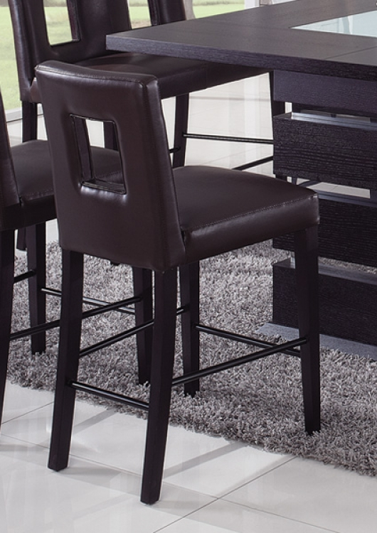 G072 Counter Stool - Brown