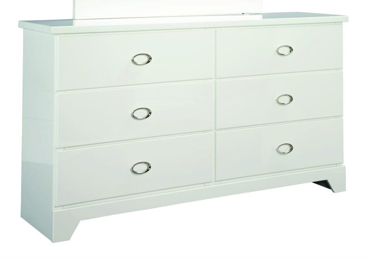 Khloe Dresser - White
