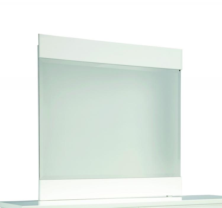Khloe Mirror - White