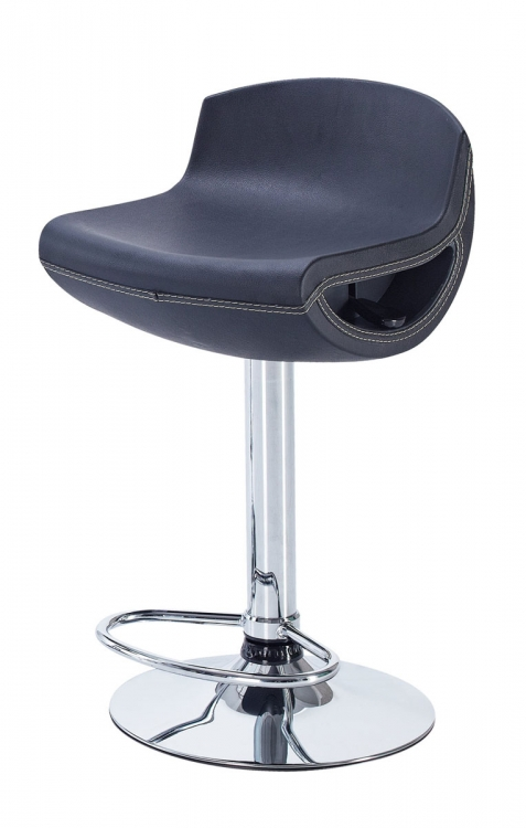 207 Bar Stool - Black - Global Furniture