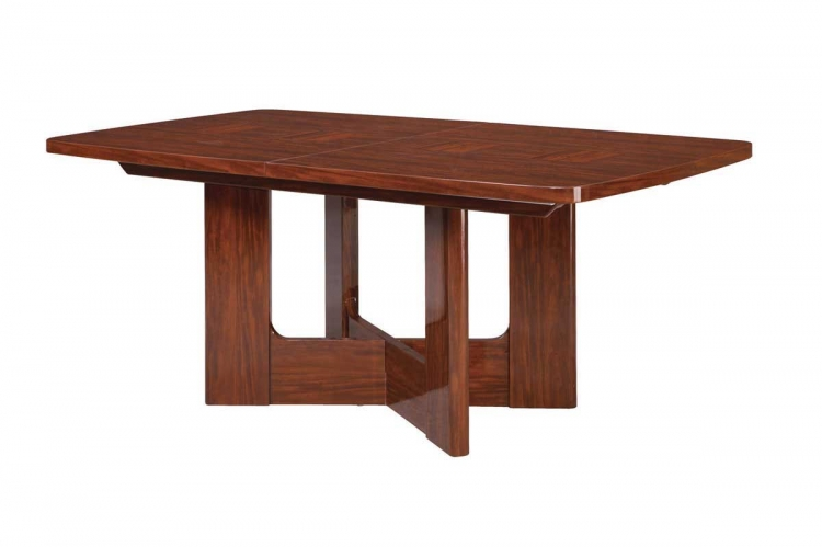 Nadia Dining Table-Mahogany