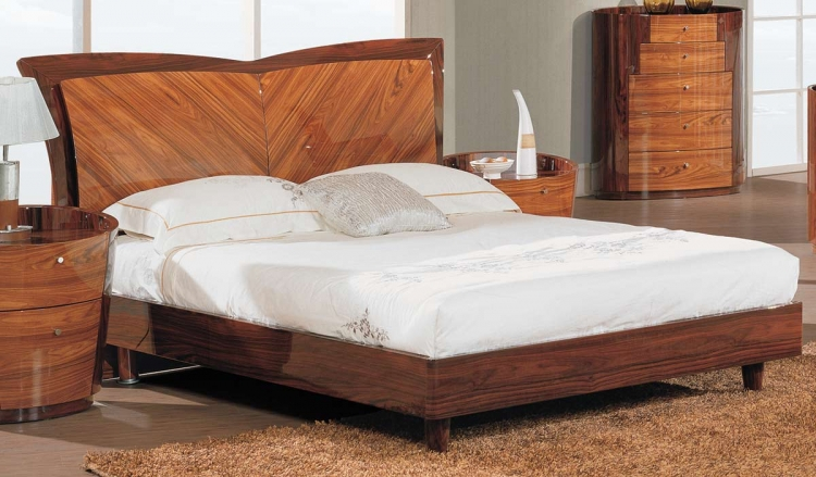 New York Platform Bed - Kokuten
