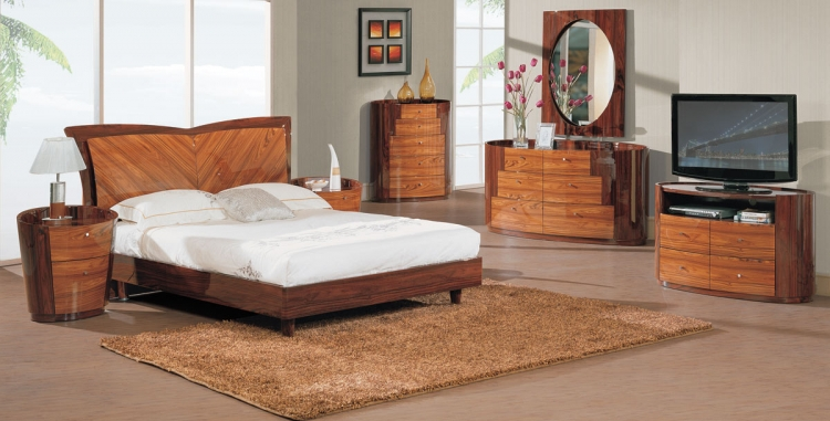 New York Platform Bedroom Set - Kokuten - Global Furniture
