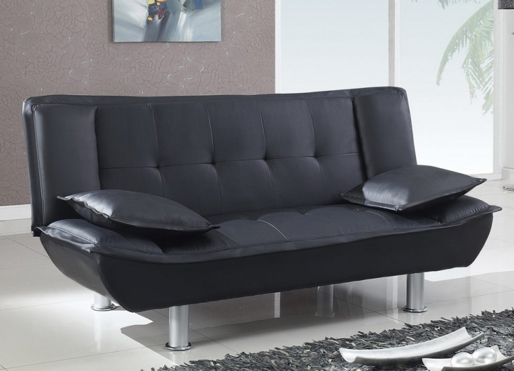 SB012 Sofa Bed - Black - Global Furniture