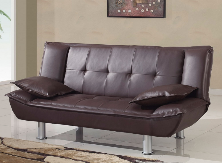 SB012 Sofa Bed - Brown