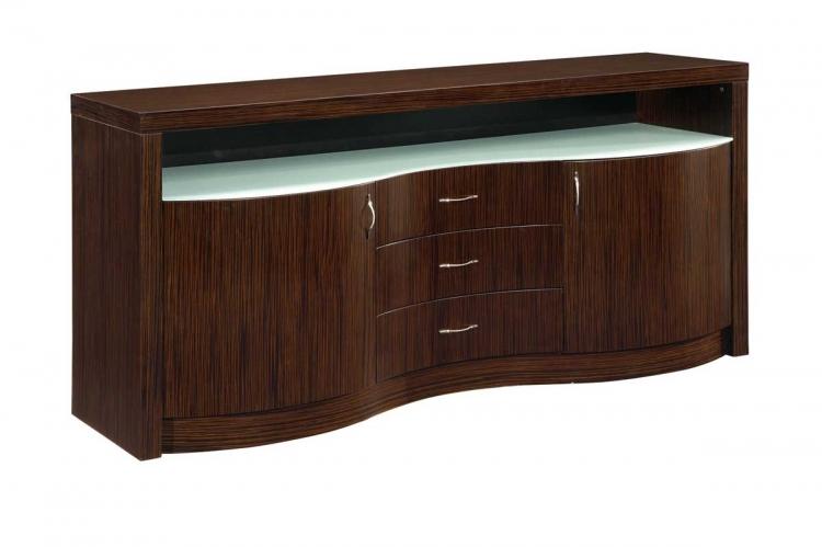 Global Furniture USA Siena Buffet-Dark Zebrano