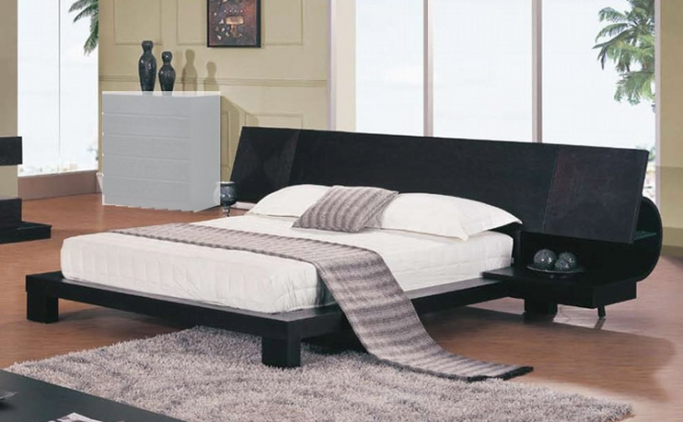 Soho Platform Bed With Built In Night Stands