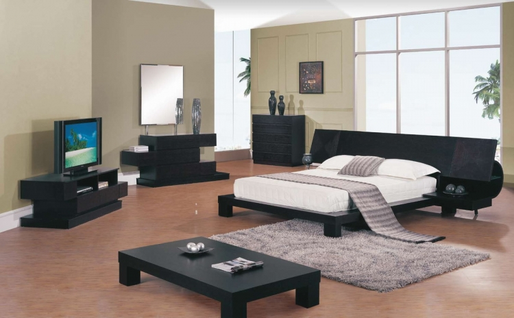 Soho Platform Bedroom Collection - Global Furniture