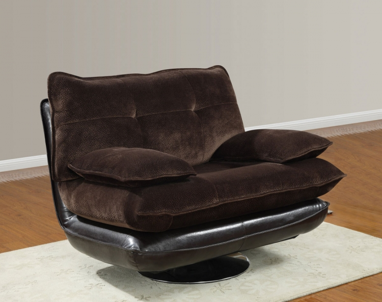 3613 Swivel Chair - Champion Chocolate